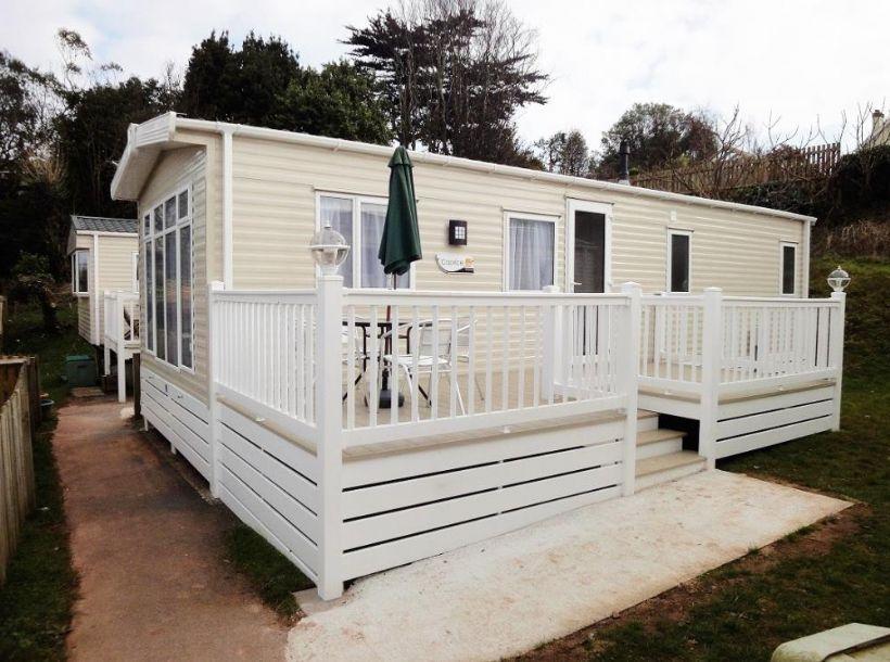Creative Caravan 1 To Rent On Devon Coast Budleigh Salterton Caravan 1 To Rent