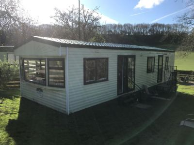 View this caravan at Woodlands Views, Pontypinna Farm, Golden Valley