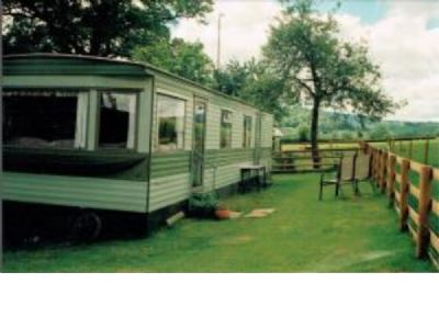 Caravan For Hire At Orchard View, Pontypinna Farm