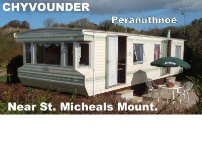 Private Caravan Hire Perranuthnoe, St. Michaels Mnt Cornwall