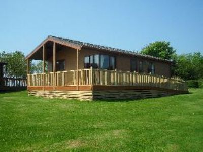 Lodge to hire at Hafan y Mor, North Wales