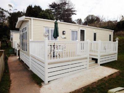 Devon's Waterside Holiday Park. Caravan For Rent