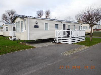 Waterside Holiday Park Caravan For Hire, Sleeps 4