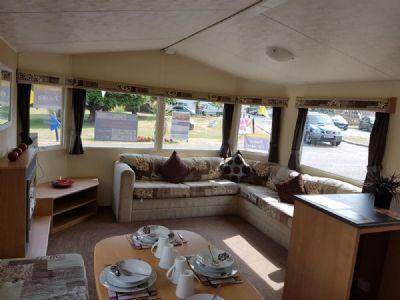 Caravan to rent in California Cliffs East England