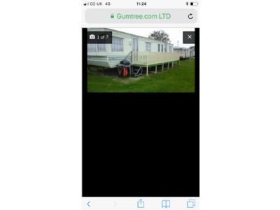 8 Berth Caravan to Rent North Shore