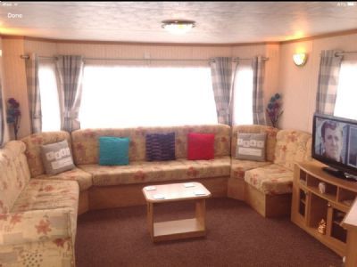 8 Berth Caravan to let Sandylands Scotland