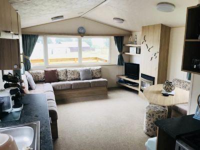 9 Berth Caravan to rent Three Lochs Holiday Park