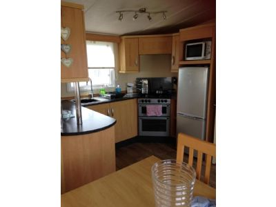 6 Berth caravan to rent Presthaven North Wales