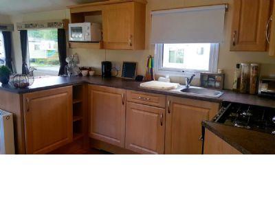 3 Bedroom Caravan to rent Tummel Valley Scotland