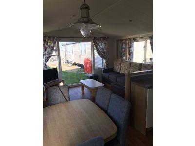Primrose Valley Yorkshire, Caravan To Rent, Stunning Views