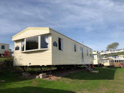 8 Berth Caravan For Hire At Sandy Bay, Devon Cliffs