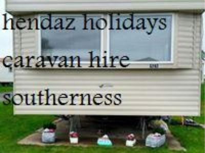 3 Bedroom Caravan For Hire At Southerness Holiday Village
