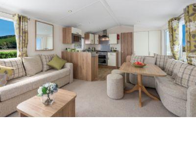 3 Bedroom Caravan to rent Golden Sands Northumberland