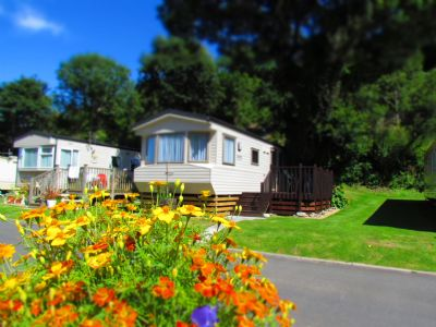 6 Berth Caravan For Hire At Hele Valley Holiday Park