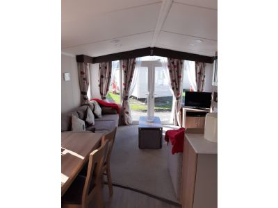 Private Caravan For Hire At Marton Mere, Lancashire
