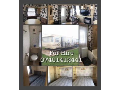 2 Bedroom Caravan for hire on Golden Anchor Lancashire