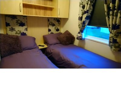 Caravan for rent on Seton Sands Holiday Park Scotland