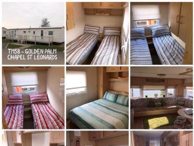 4 Bedroom Caravan to hire at Golden Palm Resorts