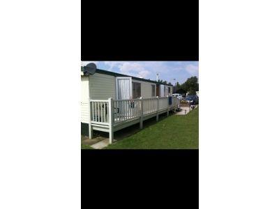 8 Berth Caravan to hire Gloden Palm Resort St Leonards