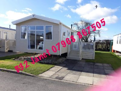 3 Bedroom Caravan for hire Flamingo Land Yorkshire