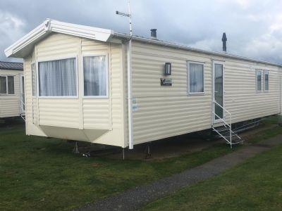 2 Bedroom caravan for hire Perran Sands Cornwall