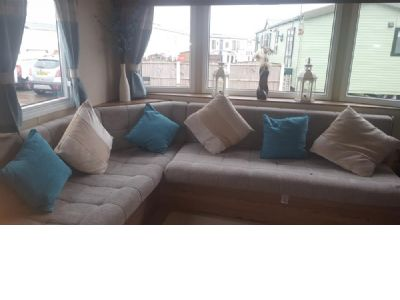 8 Berth Caravan to hire Golden Gate Towyn North Wales