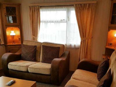 4 Berth Caravan to rent Sunnysands Caravan Park North Wales