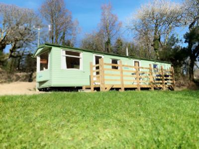 3 Berth Caravan to hire Trevoulter Farm Holidays Cornwall