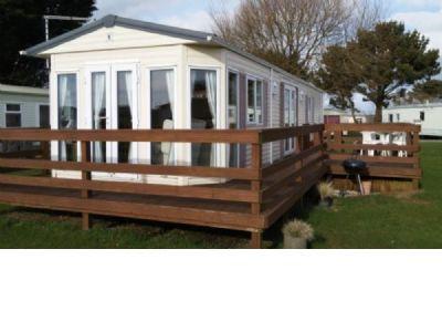 2 Bedroom Caravan to rent Seven Bays Park Cornwall
