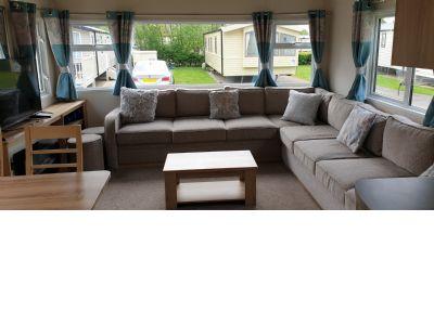 8 berth caravan to rent Lakeland Leisure Park Cumbria