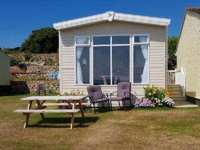 6 Berth Caravan at Praa Sands Penzance (Owners Garden)