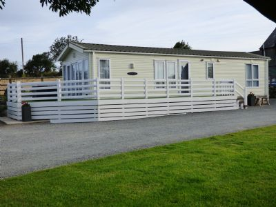 4 Berth Caravan at Garnedd Holiday Cottages, North Wales