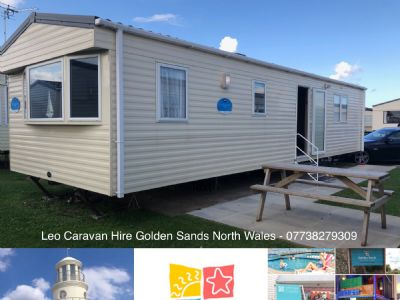 6 Berth Caravan at Golden Sands, Rhyl, North Wales