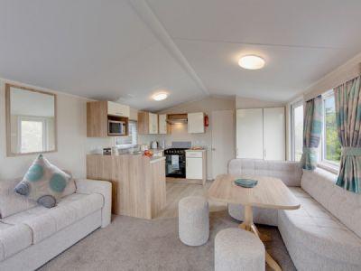 Hire a 6 Berth Caravan at Kiln Park, South and West Wales