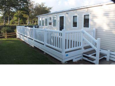 6 Berth Caravan for hire  at White Acres, Cornwall