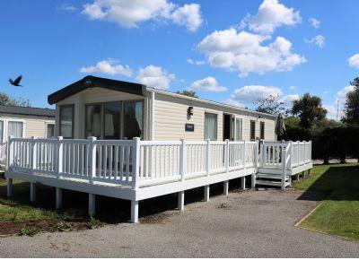 6 Berth Caravan at White Acres Holiday Park, Cornwall