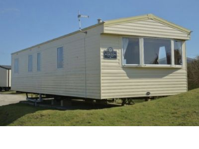3 Berth Caravan at Tregurrian Camping And Caravanning Club S
