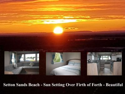 Hire Our 8 Berth Caravan at Seton Sands, Scotland
