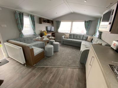 6 Berth Caravan at Perran Sands Holiday Park, Cornwall